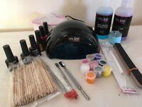 Set For UV LED Lamp UV Gel Nail Art Tools Nail Gel Kit