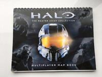 Halo map book excellent condition