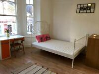 Lovely bright, sunny and large fully self contained studio flat available NOW!