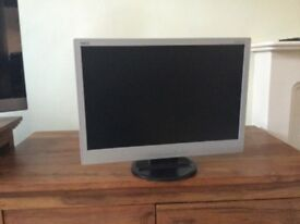 NEC 22inch NEC monitor silver col frame in good working condition