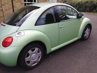 Wolkswagen Beetle Green 2001, 2.0