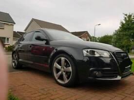 Audi A3, Black Edition, S Line