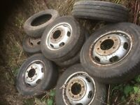Ford transit wheels and tyres 185/75/16