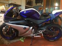 Yamaha yzf r125 breaking malossi parts