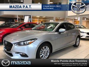 2018 Mazda MAZDA3 SPORT GS/DEMARREUR À DISTANCE/VITRE TEINTÉ/PNE