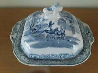 Circa 1870 covered serving dish