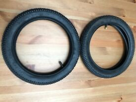 Kenda 14 inch child bicycle tyres and inner tubes