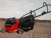 Moutfield M41 Push Petrol Lawnmower 19 inch blade... SERVICED