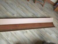 Walnut style plinth 2.4m