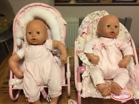 Baby Annabell dolls, clothes and accessories.