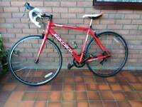 Carrera Zelos 54cm frame 700C Road Bike