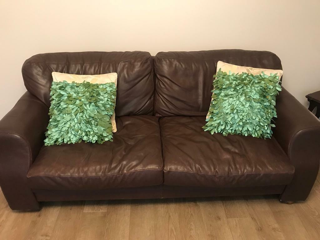 2 Seater And 3 Seater Leather Sofas Barker And Stonehouse