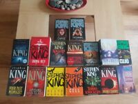 Collection of Stephen King books - 30 in total - all paperback - not sold seperately, £30 for all