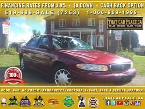 2004 Buick Century Extreme Comfort-Low Km's/Price-Pwr Wdws/Drs/M