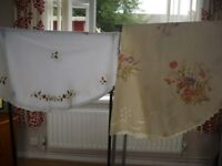 table cloths and bed sets