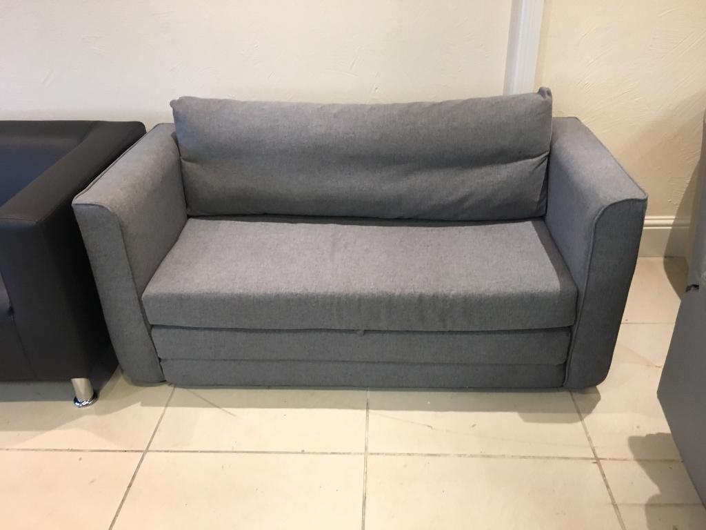 Pleasant Brand New Light Grey Fabric Small Double Sofa Bed In Rochdale Manchester Gumtree Evergreenethics Interior Chair Design Evergreenethicsorg