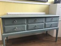 Up Cycled Stag Console Table/Hall Table/Dresser