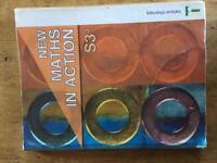 Maths S3 book. Maths in Action