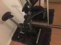 Exercise bike - resistance exercise bike fitness cardio workout - adjustable
