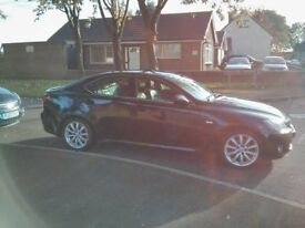 Lexus IS 250 SE-L, 2007, 76229 miles, fully loaded, petrol, manual