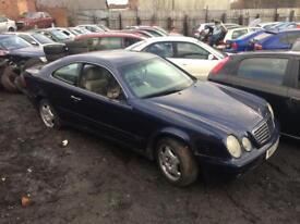Breaking for parts Mercedes clx 320 coupe 3.2 petrol auto