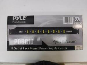 Pyle 8 Outlet Rack Mount Power Supply - We Buy and Sell Home Audio and Pro Audio Equipment - 8058 - JY0113408