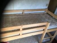 Static caravan Bunk bed