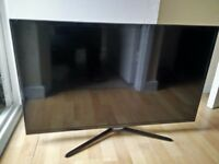 2x LED Televisions. Samsung. lg . FAULTY. SPARES