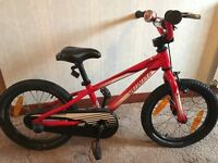 Childs Bike Red - Specialized Hotrock 16
