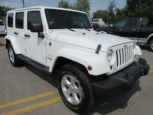 2013 Jeep Wrangler Unlimited SAHARA CUIR AUTOMATIQUE