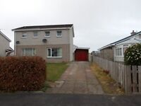 2 bedroom House with garage to rent Forres Forbeshill Morayshire