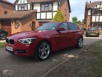 2014 14 BMW 1 SERIES 120D XDRIVE 5 DOOR 181 BHP SPORTS