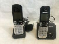 PANASONIC TWIN DECT CORDLESS TELEPHONE SET