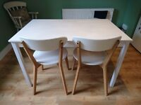 Dining Table, Chairs and Bench For Sale