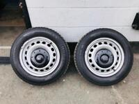 VOLKSWAGEN CADDY STEEL WHEELS
