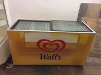 Wall's Large Commercial Fridge