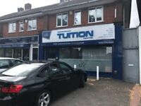 COMMERCIAL TO LET**PREVIOUS USED AS TUITION CENTER**NEWLY REFURBISHED**EXCELLENT LOCATION**MUST VIEW