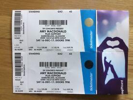 Amy Macdonald Tickets Glasgow 16 December