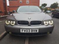 Need gone or swap BMW 730LD Diesel automatic full full long mot