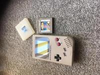 Original game boy with game fully working with back