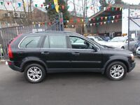 Volvo XC90 2.4 TD D5 SE Geartronic 5dr 7 SEATER BLACK LEATHERS