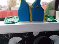 Swimming vest and water wings