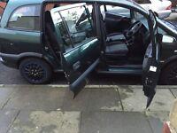 7 seater Vauxhall zafira 54 plate drives good low miles 1.6 petrol