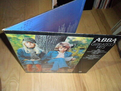 ABBA GREATEST HITS  VINYL LP RECORD-ATLANTIC SD 18189