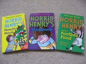 Horrid Henry (3 Books)