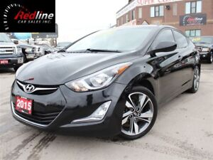 2015 Hyundai Elantra GLS Camera-Sunroof-Accident Free