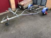 Indespension galvanised bunk trailer - good condition