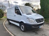 2012 Mercedes Sprinter 313 CDi SWB Panel Van 1 Owner Full Dealer SH AirCon/Climate Cruise HPI NO VAT