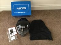 Brand new in box. Motorcycle helmet. AVG Moto Sunjet MDS E2205 Multi. Tuft Pink. Medium.