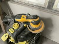 Mirka electric orbital sander and extraction (sold pending collection)